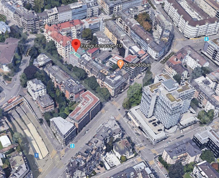 Freigutstrasse 10 8002 Zürich